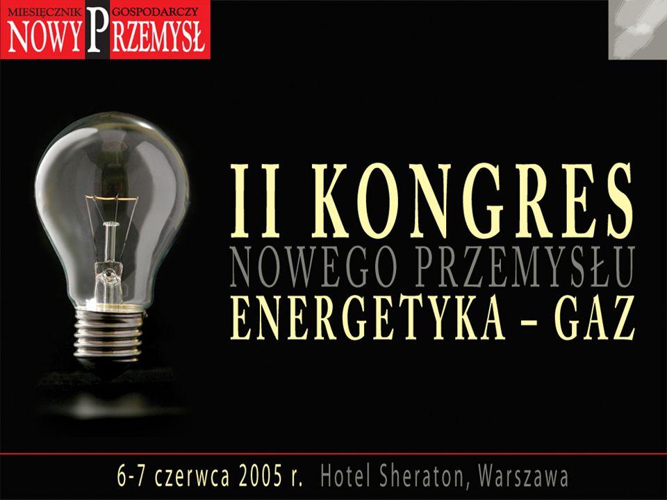 Zofia Janiszewska Urząd Regulacji Energetyki Perspektywy liberalizacji rynku energii elektrycznej w Polsce - – szanse i zagrożenia Warszawa, czerwiec 2005
