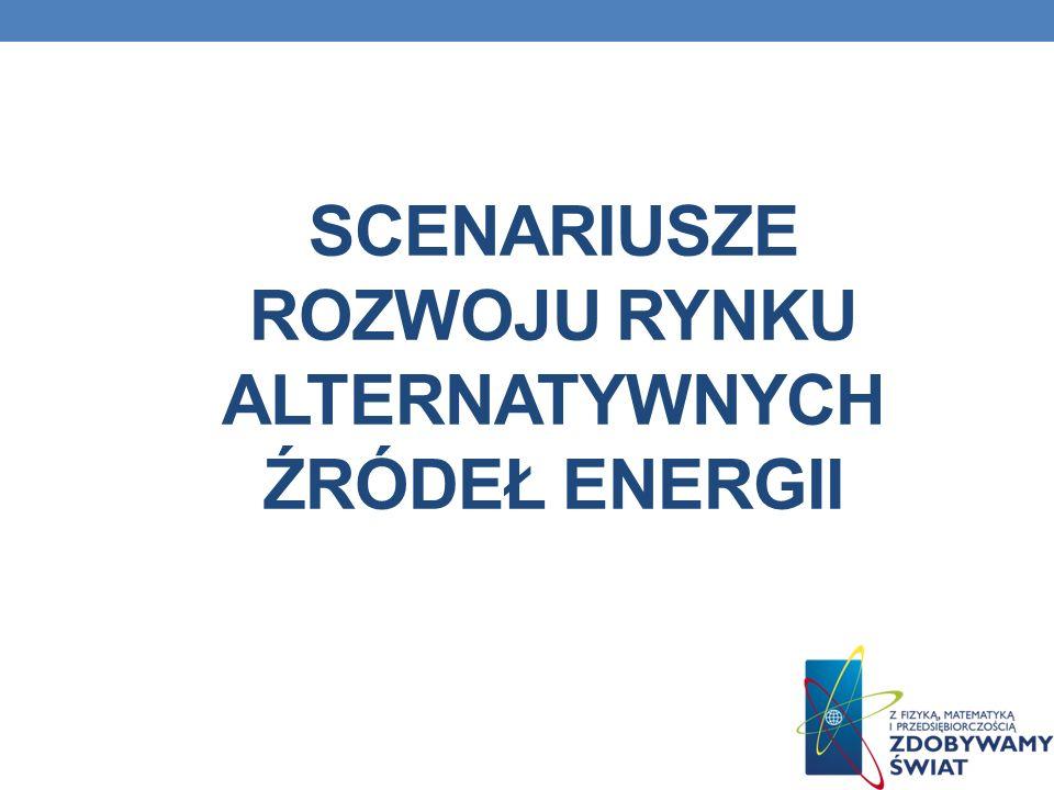 SCENARIUSZE ROZWOJU RYNKU ALTERNATYWNYCH ŹRÓDEŁ ENERGII
