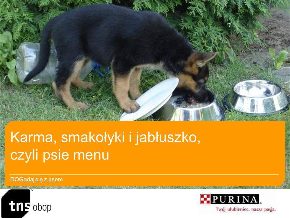 Karma, smakołyki i jabłuszko, czyli psie menu DOGadaj się z psem
