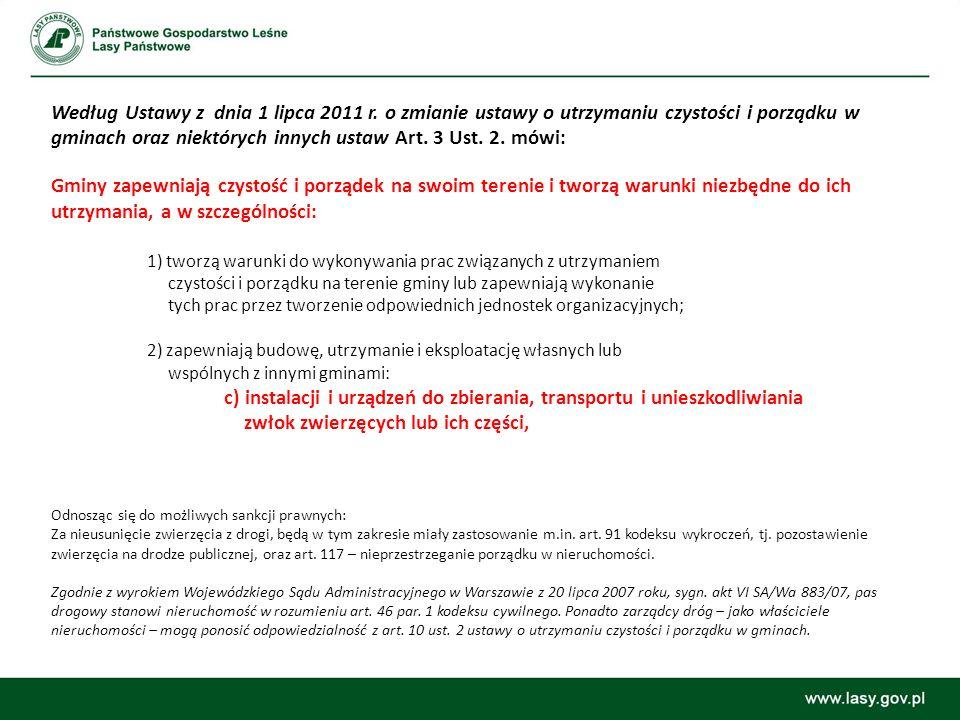 Art.3 i 7 ustawy z 13 września 1996r. (Dz. U. Nr 132 poz.