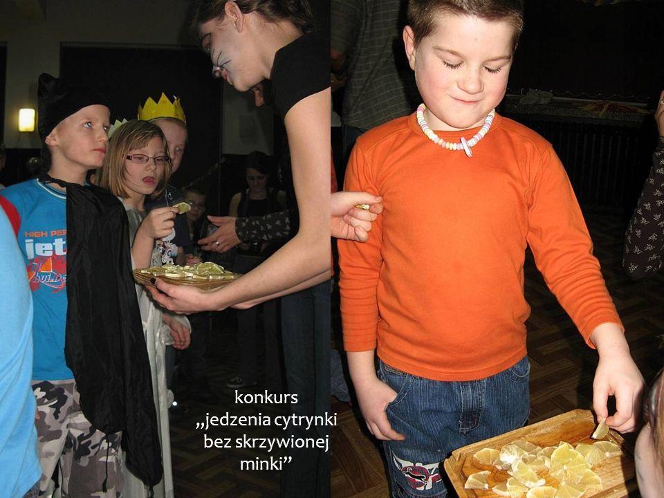konkurs jedzenia cytrynki bez skrzywionej minki