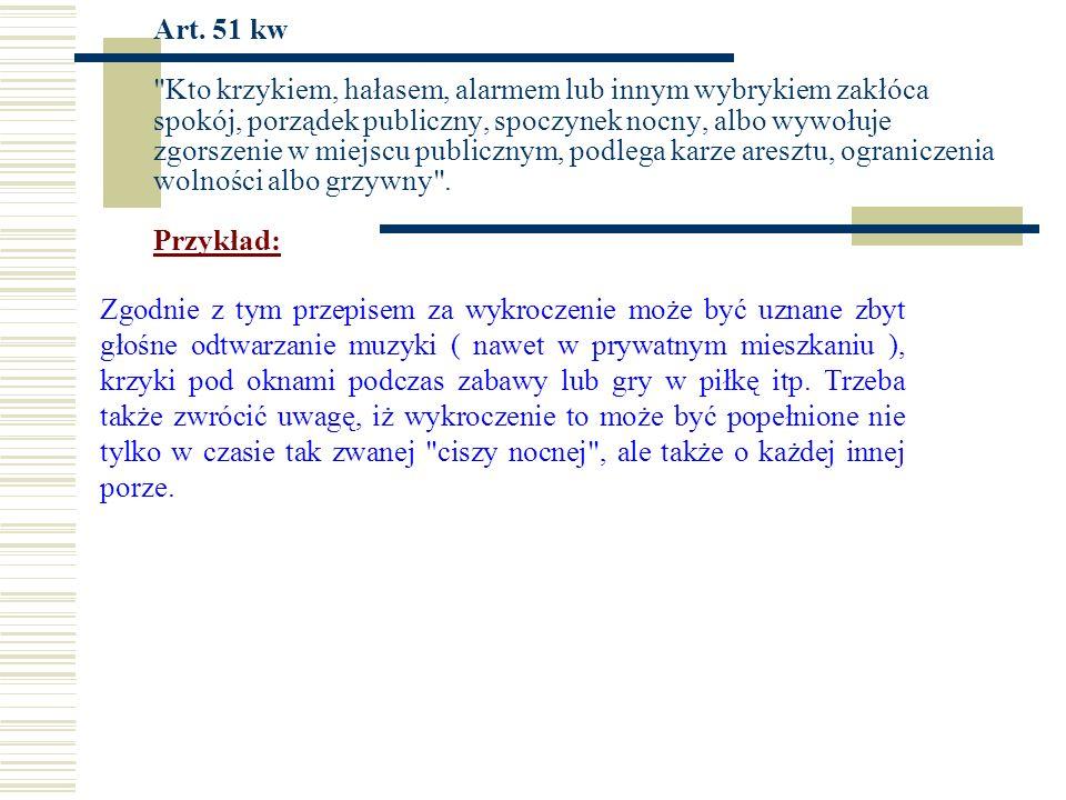 Art. 51 kw