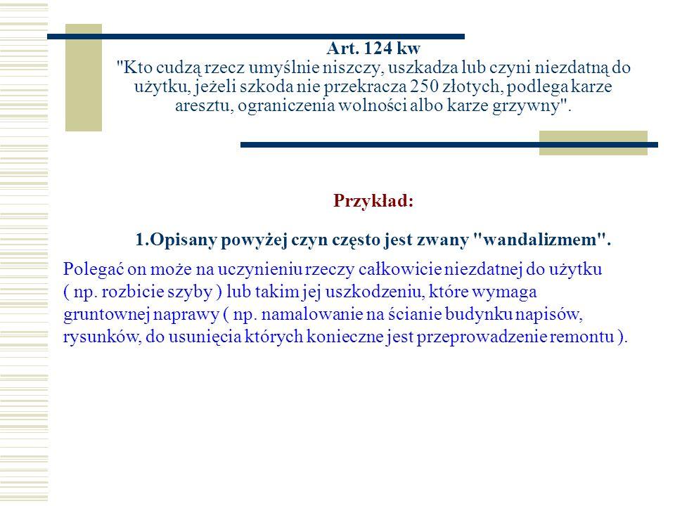 Art. 124 kw
