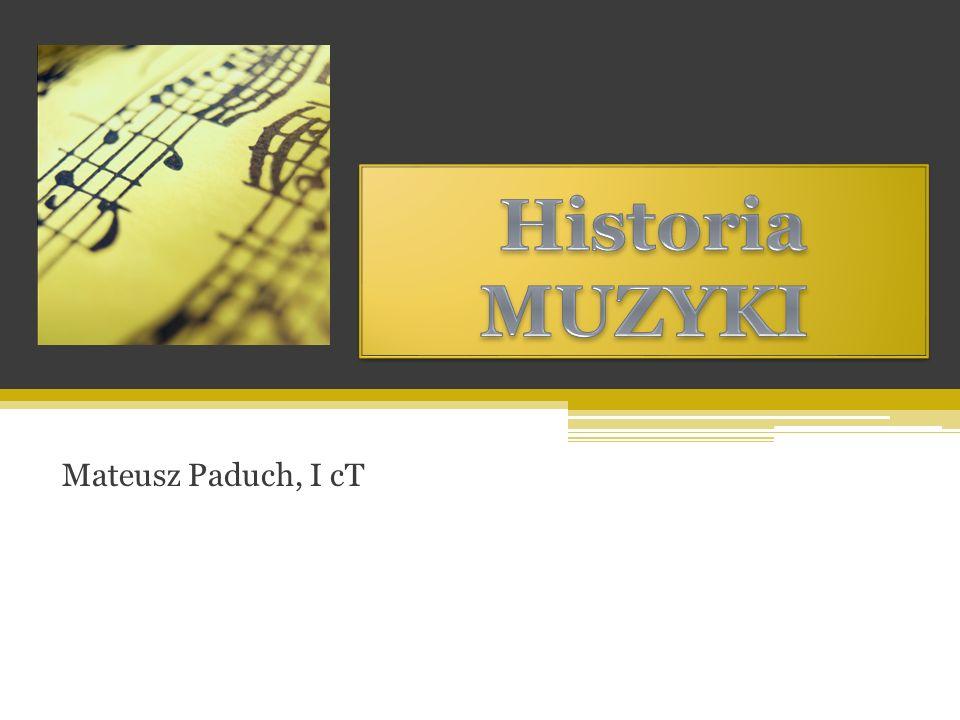 Połowa wieku XX jest to okres powstania szeregów stylów muzycznych, m.in.