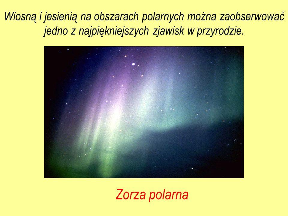 Wiosną i jesienią na obszarach polarnych można zaobserwować jedno z najpiękniejszych zjawisk w przyrodzie. Zorza polarna