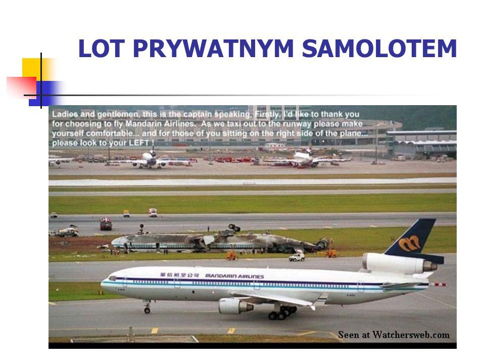 LOT PRYWATNYM SAMOLOTEM