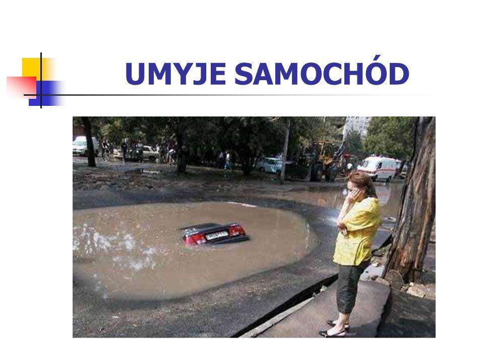 UMYJE SAMOCHÓD