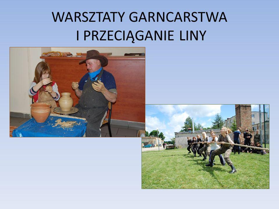 WARSZTATY GARNCARSTWA I PRZECIĄGANIE LINY