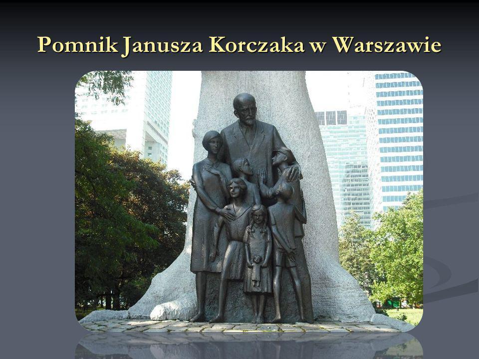 Pomnik Janusza Korczaka w Warszawie
