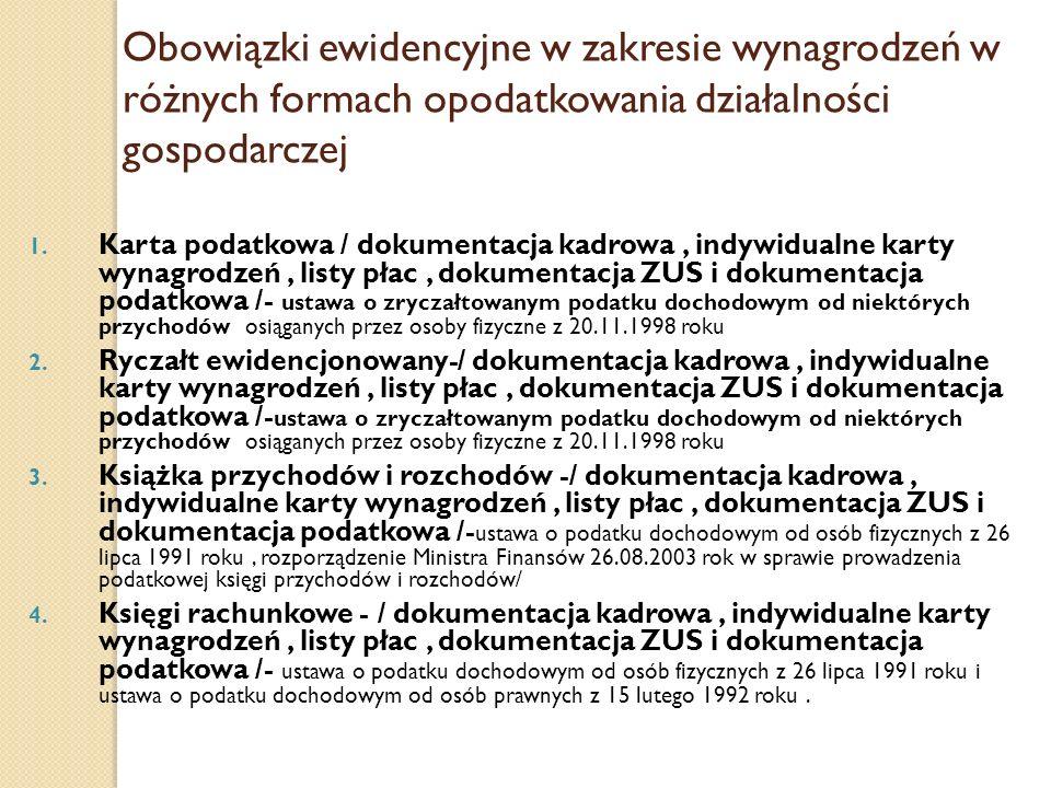 Formy zatrudniania pracowników Pracownicze formy wykonywania pracy art 25 KP 1.