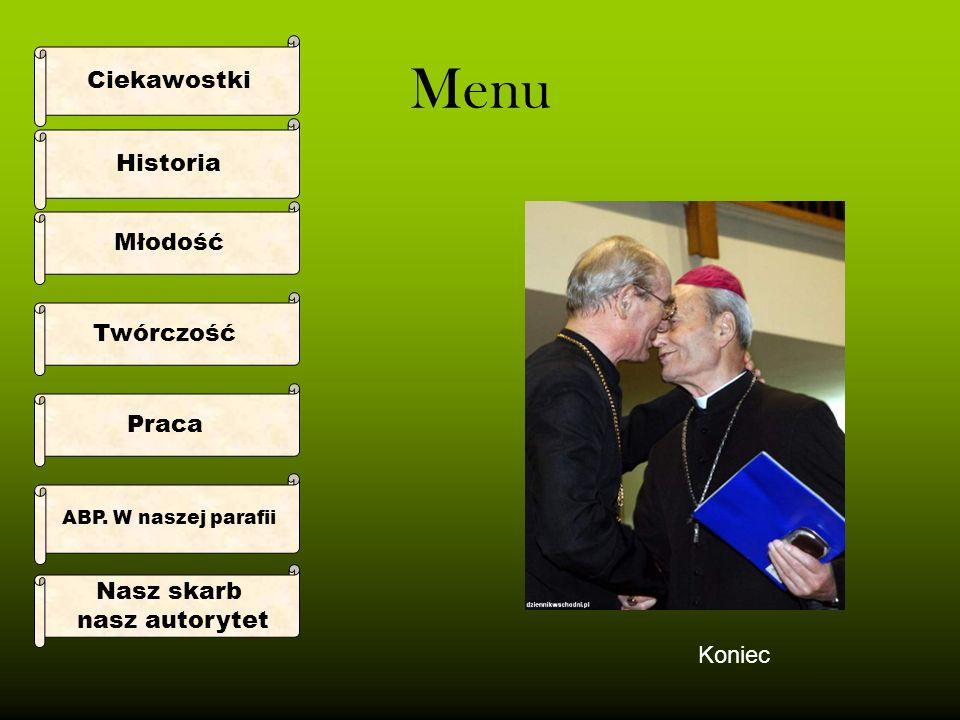 Historia Arcybiskup Senior Bolesław Pylak Dewiza: In Te Domine Speravi -Tobie Panie Zaufałem urodzony 20 sierpnia 1921 r.