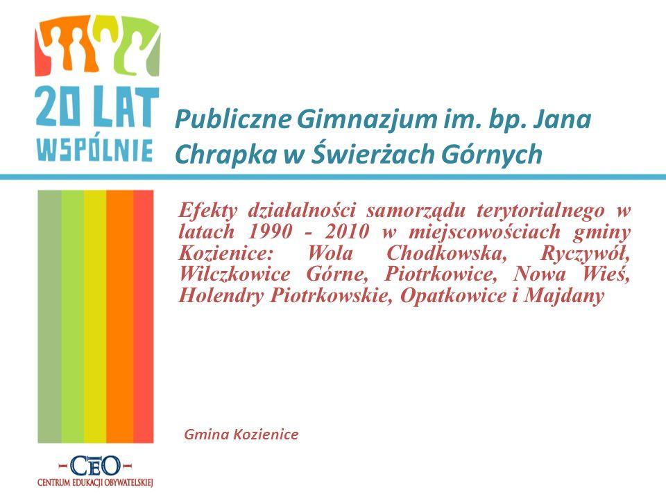Publiczne Gimnazjum im.bp.