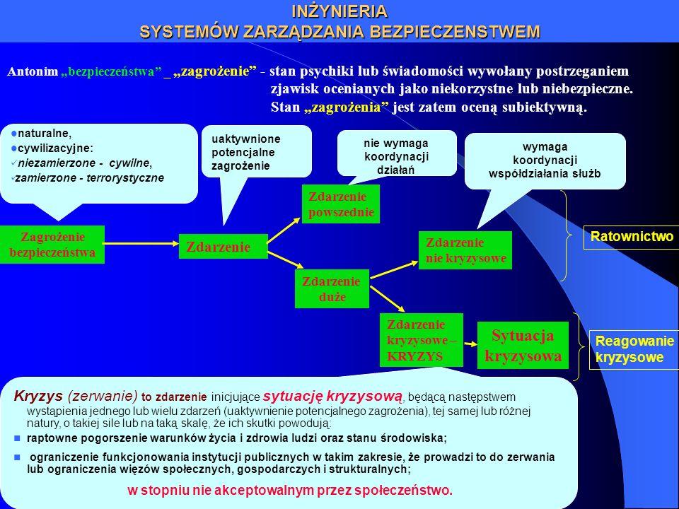 Problemy do rozwiązania doprecyzowanie unormowań prawnych określających obowiązki gestorów i dawców w zakresie świadczenia informacyjnego na rzecz służb ratownictwa; standaryzacja protokołów wymiany informacji infrastrukturalnej, operacyjnej i z monitoringu; opracowanie zunifikowanych, powielarnych modułów programowych (komponentów składowych) systemów komputerowego wspomagania zarządzania bezpieczeństwem ( kierowania ratownictwem i zarządzania kryzysowego) – stworzenie biblioteki certyfikowanych modułów programowych; opracowania powielarnych systemów komputerowego wspomagania zarządzania bezpieczeństwem na poszczególnych poziomach hierarchicznych - kierowania ratownictwem i zarządzania kryzysowego; certyfikacja modułów i oprogramowania użytkowego systemów komputerowego wspomagania zarządzania bezpieczeństwem (kierowania ratownictwem i zarządzania kryzysowego) – powołania Centrum Certyfikacji; opracowanie modelu funkcjonalno – informacyjnego hierarchicznego systemu zarządzania bezpieczeństwem kraju ze szczególnym uwzględnieniem ratownictwa i zarządzania kryzysowego