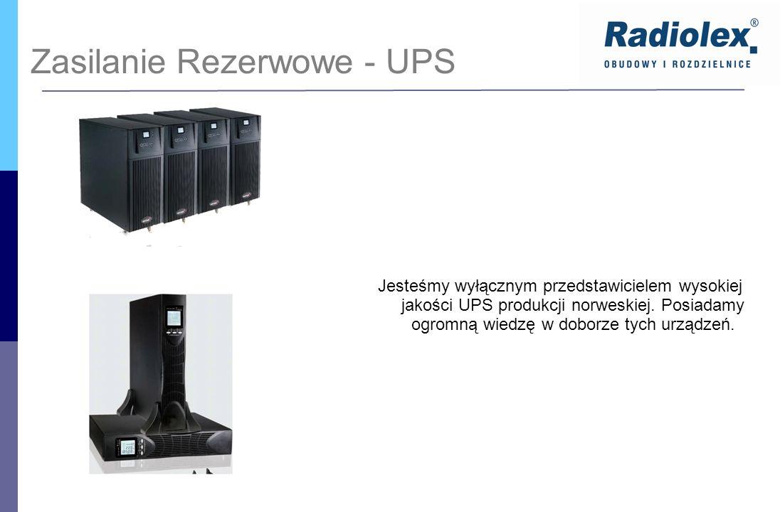 Zasilanie Rezerwowe - UPS Jesteśmy wyłącznym przedstawicielem wysokiej jakości UPS produkcji norweskiej. Posiadamy ogromną wiedzę w doborze tych urząd
