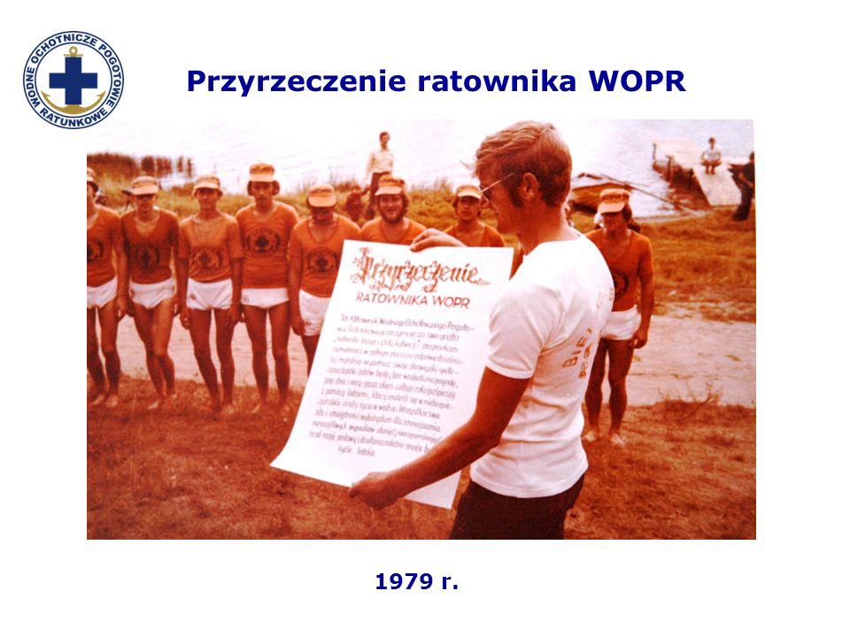 Przyrzeczenie ratownika WOPR 1979 r.