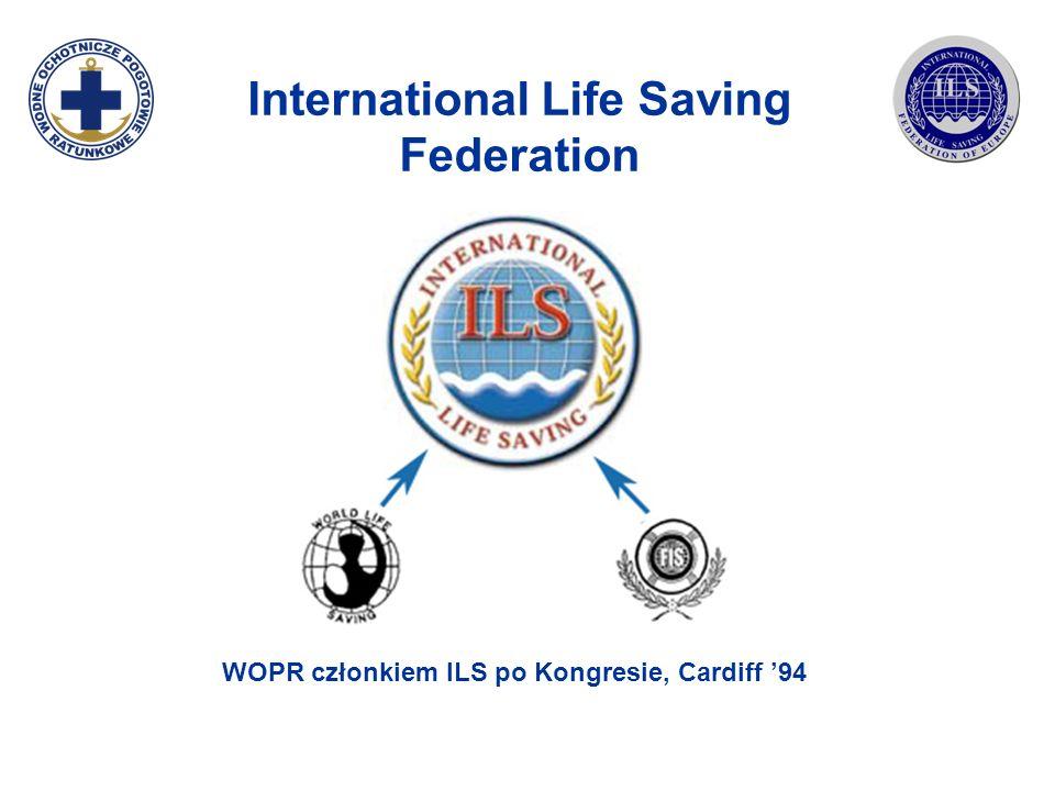 International Life Saving Federation WOPR członkiem ILS po Kongresie, Cardiff 94