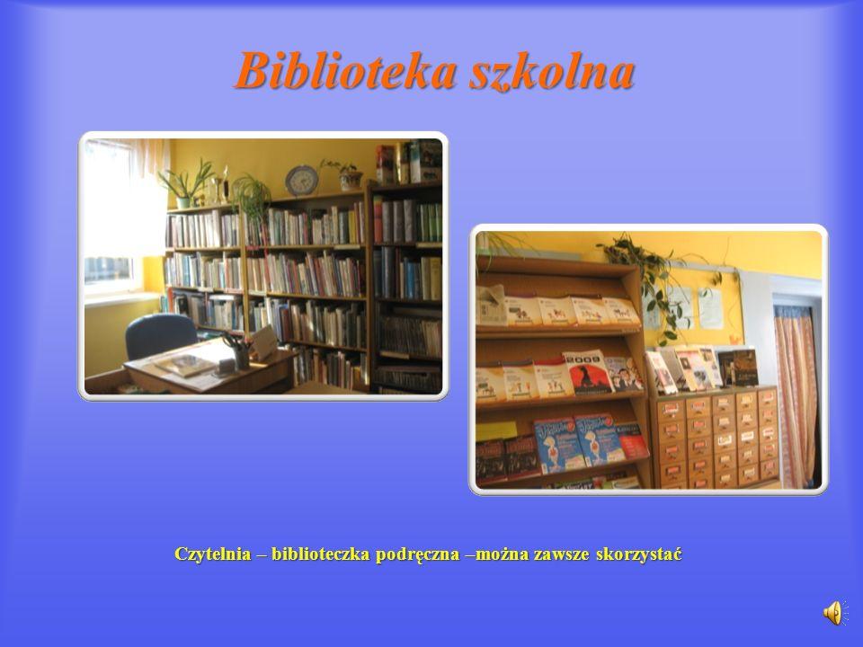 Biblioteka szkolna Czytelnia w oczach dzieci