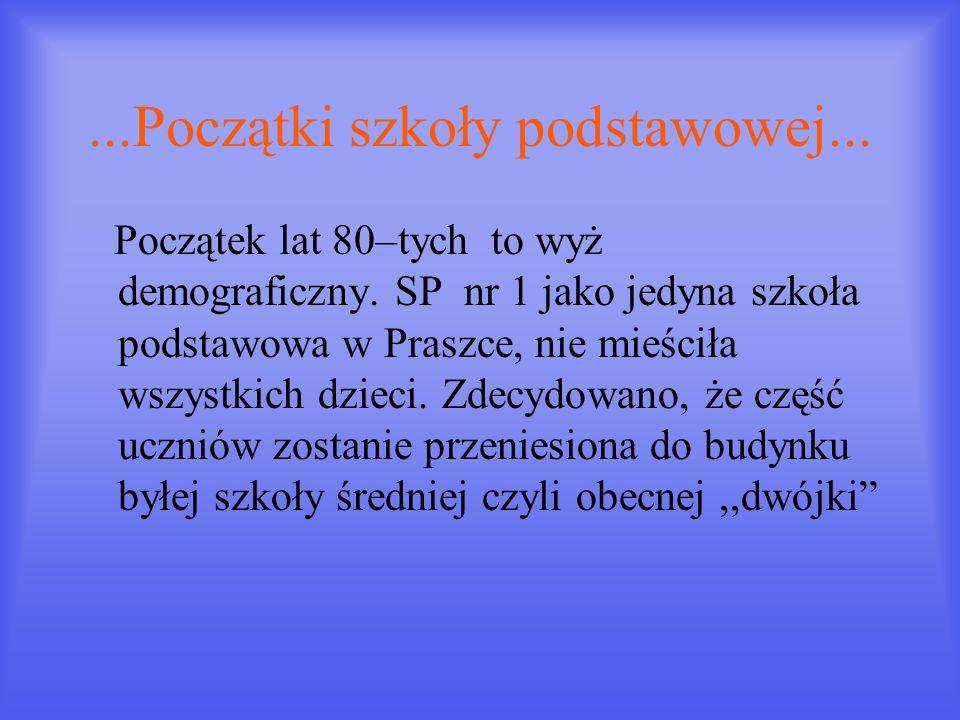 Dyrektorzy szkoły - 1981r.- Stanisław Świątek -1987r.