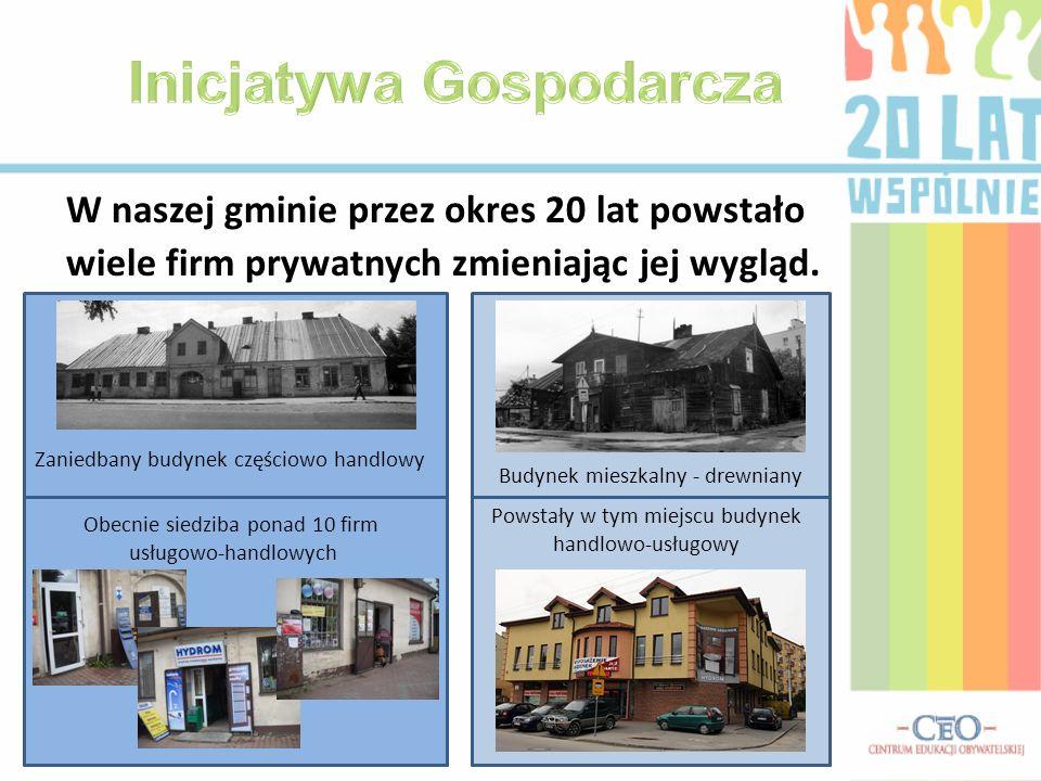 Wieża ciśnień – symbol rozwoju wodociągów Replika pompy na rynku Fragment wywiadu z panią Barbarą Galicz – burmistrz Tarczyna