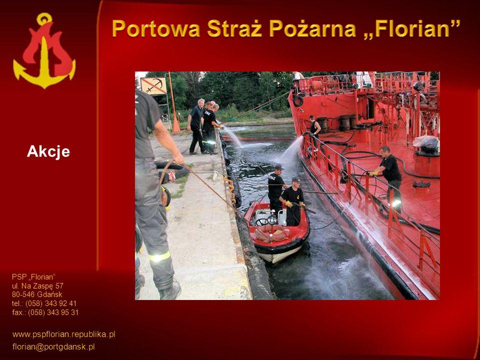 Akcje PSP Florian ul.
