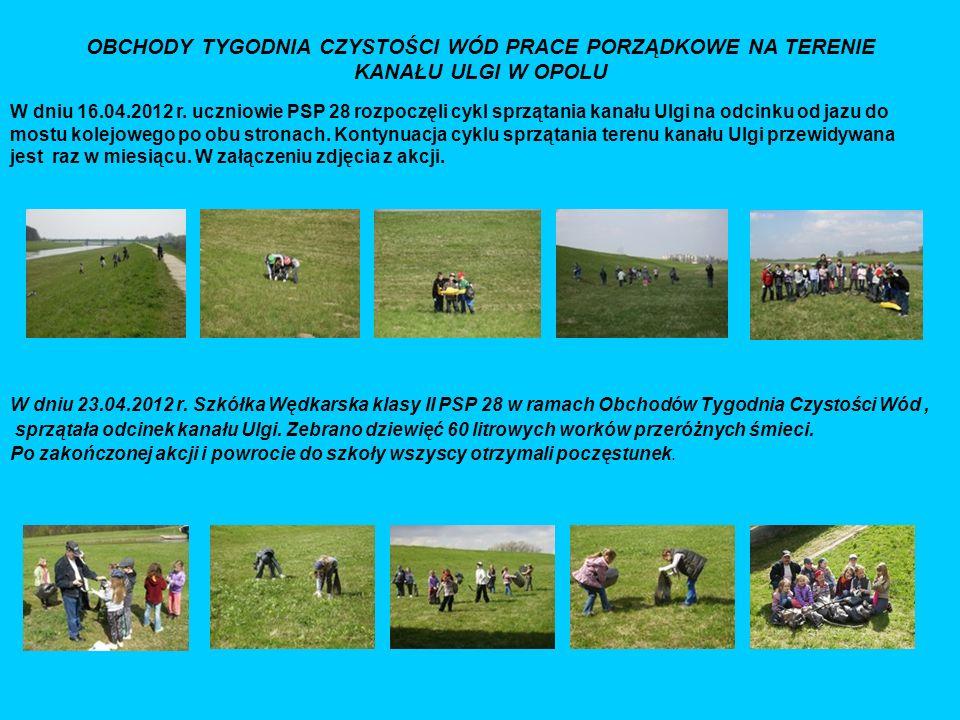 Udział młodzieży w zawodach kołowych Puchar Grabówki Puchar Zarządu Koła Zakończenie Sezonu