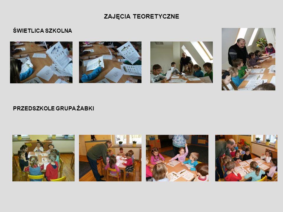 ZAJĘCIA TEORETYCZNE SZKÓŁKI WĘDKARSKIEJ TEST EKOLOGICZNY 2012
