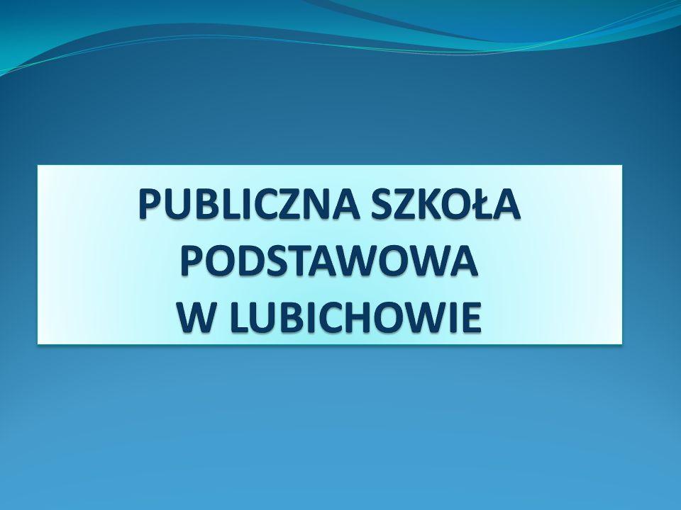 Podstawowe dane: 3 budynki w Lubichowie, w których odbywają się zajęcia dydaktyczne oraz szkoła filialna w Ocyplu 9 (6+3) oddziałów klas I – III 9 oddziałów klas IV – VI 40% to uczniowie dowożeni z 9 miejscowości zajęcia na 1 zmianę
