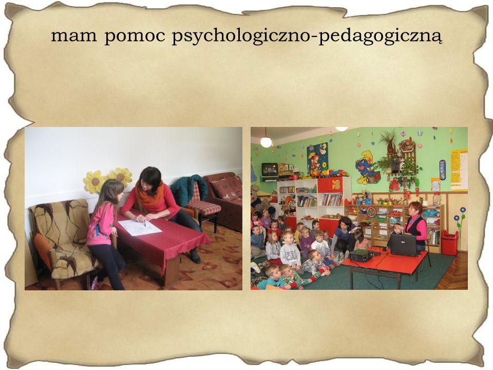 mam pomoc psychologiczno-pedagogiczną