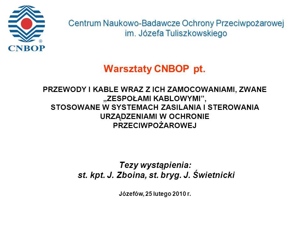 Warsztaty CNBOP pt.