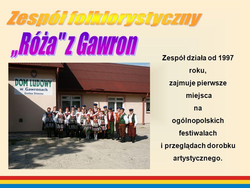 Zespół działa od 1997 roku, zajmuje pierwsze miejsca na ogólnopolskich festiwalach i przeglądach dorobku artystycznego.