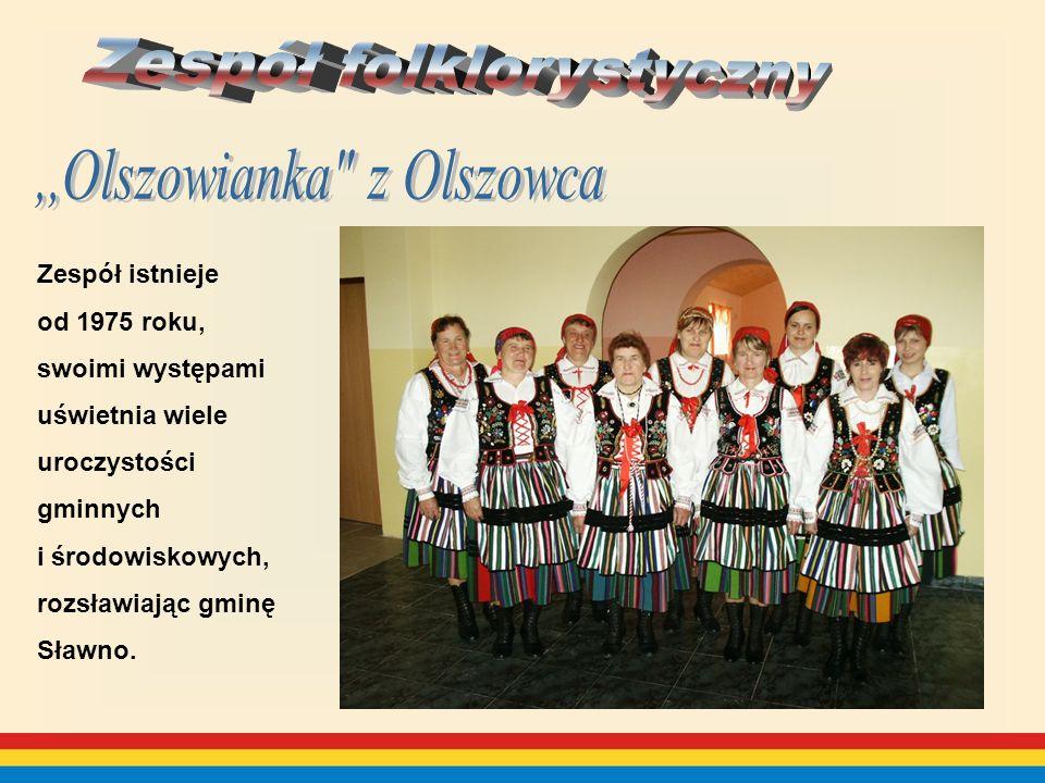 Zespół istnieje od 1975 roku, swoimi występami uświetnia wiele uroczystości gminnych i środowiskowych, rozsławiając gminę Sławno.