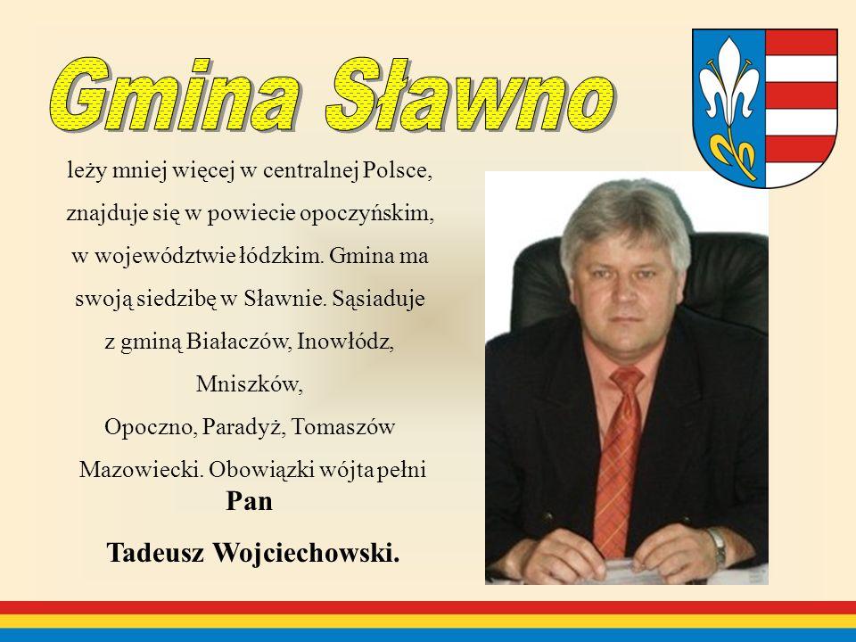 leży mniej więcej w centralnej Polsce, znajduje się w powiecie opoczyńskim, w województwie łódzkim.