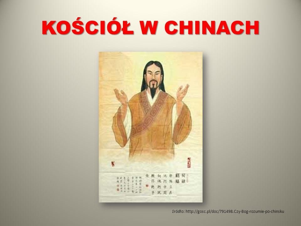 Źródło: http://www.dobryskarbiec.pl/krzyz-jezus-w-chinach.html