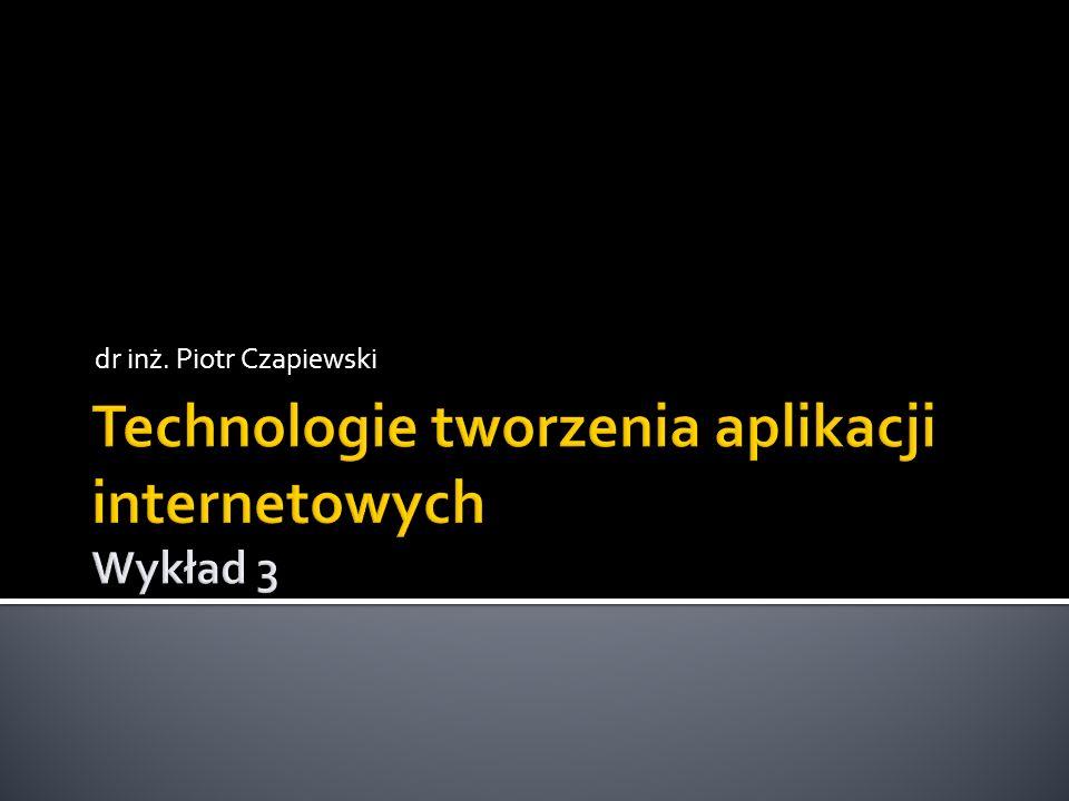dr inż. Piotr Czapiewski