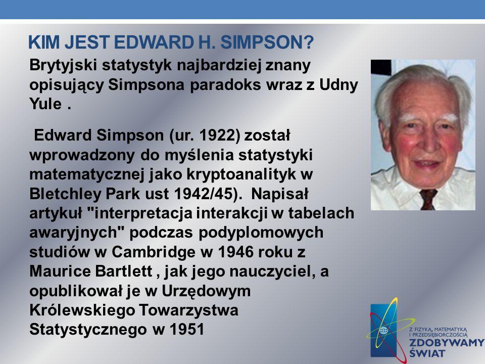 KIM JEST EDWARD H. SIMPSON.