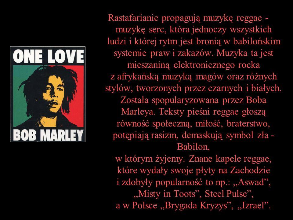 Rastafari współczesne Ruch Rastafari nigdy nie był scentralizowaną religią, wielu rastafarian uznaje go nie za religię, a za drogę życia .