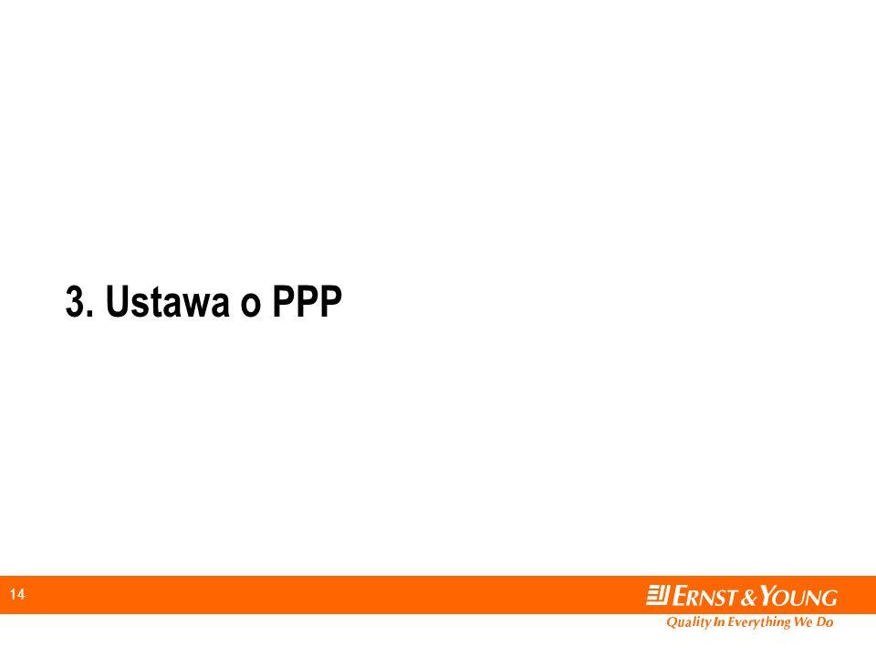 14 3. Ustawa o PPP