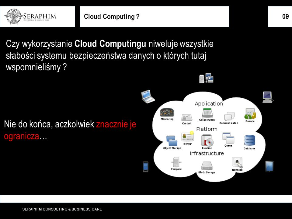 SERAPHIM CONSULTING & BUSINESS CARE 09 Cloud Computing .