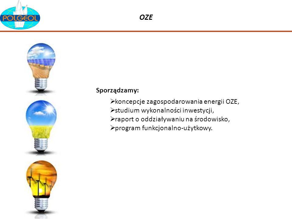 OZE koncepcje zagospodarowania energii OZE, studium wykonalności inwestycji, raport o oddziaływaniu na środowisko, program funkcjonalno-użytkowy. Spor