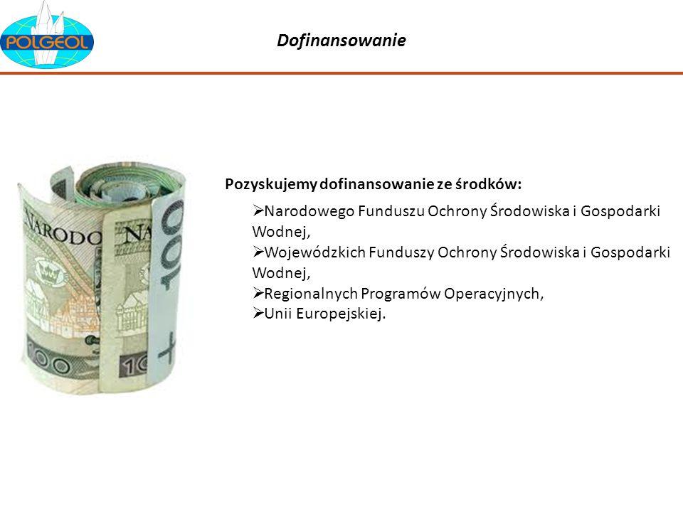 Dofinansowanie Narodowego Funduszu Ochrony Środowiska i Gospodarki Wodnej, Wojewódzkich Funduszy Ochrony Środowiska i Gospodarki Wodnej, Regionalnych