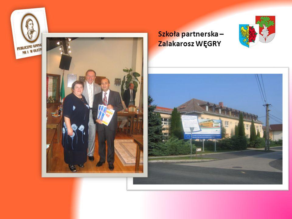 Szkoła partnerska – Zalakarosz WĘGRY