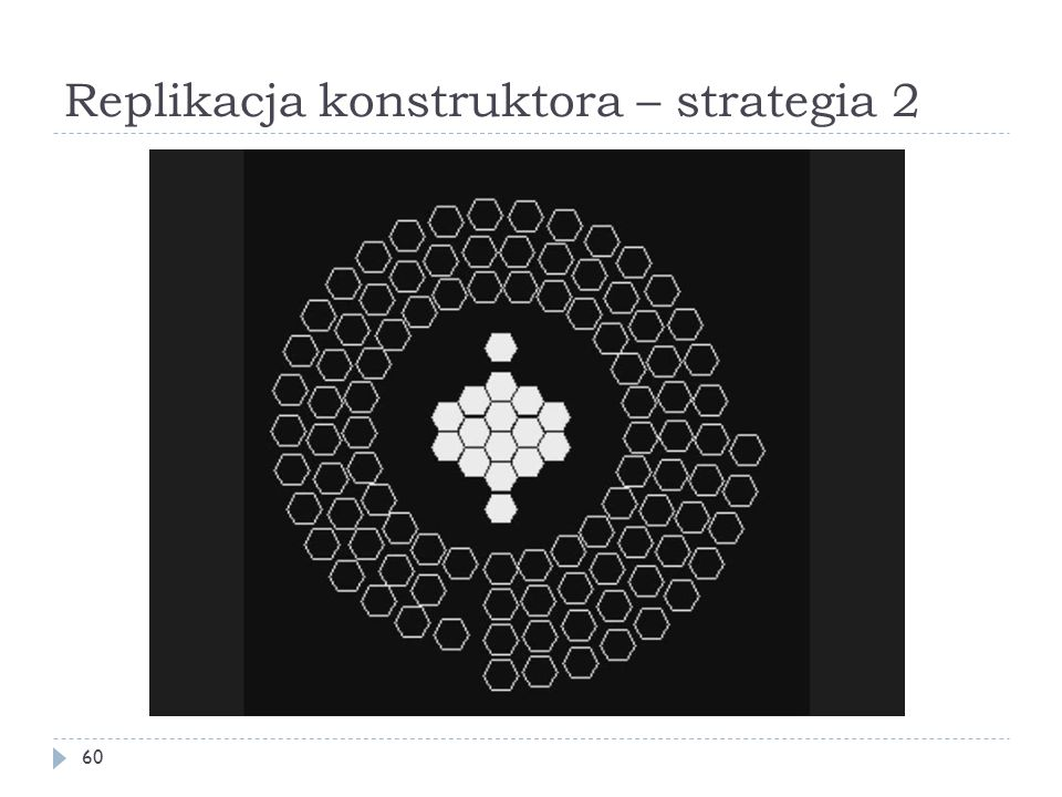 Replikacja konstruktora – strategia 2 60
