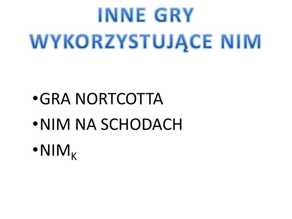 GRA NORTCOTTA NIM NA SCHODACH NIM K