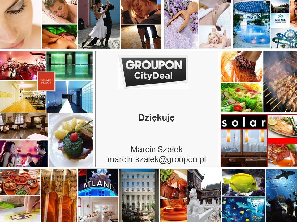 www.groupon.pl18 www.CityDeal.de Dziękuję Marcin Szałek marcin.szalek@groupon.pl