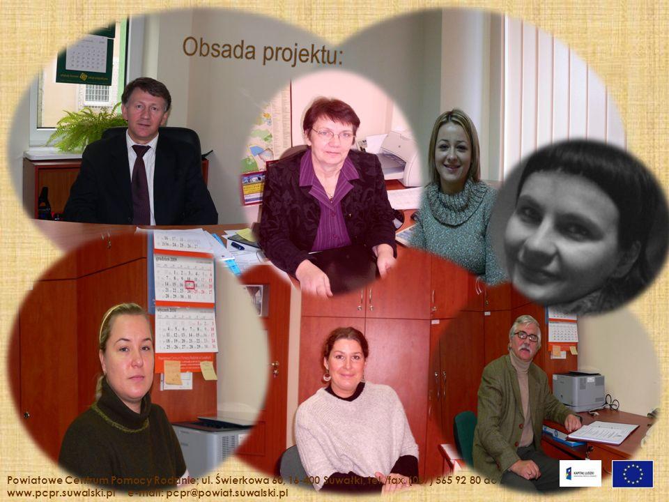 Powiatowe Centrum Pomocy Rodzinie; ul.Świerkowa 60, 16-400 Suwałki, tel./fax.