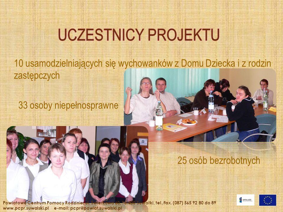 Strona internetowa: www.pcpr@powiat.suwalski.pl Powiatowe Centrum Pomocy Rodzinie; ul.