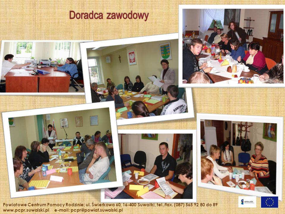 Powiatowe Centrum Pomocy Rodzinie; ul. Świerkowa 60, 16-400 Suwałki, tel./fax. (087) 565 92 80 do 89 www.pcpr.suwalski.pl e-mail: pcpr@powiat.suwalski