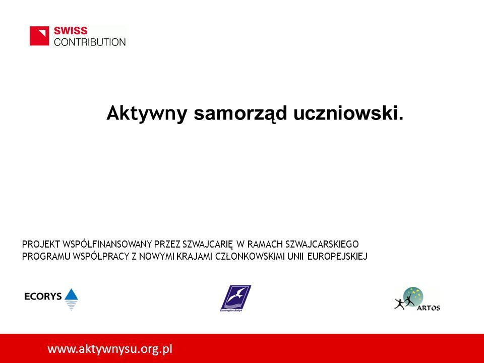 www.aktywnysu.org.pl Aktywn y samorząd uczniowski.