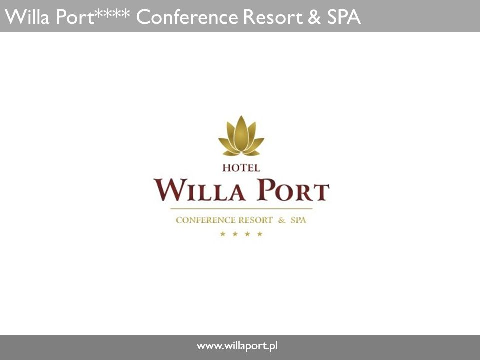 www.willaport.pl Willa Port**** Conference Resort & SPA