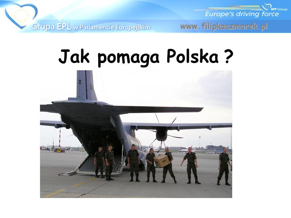 Jak pomaga Polska ? www.filipkaczmarek.pl